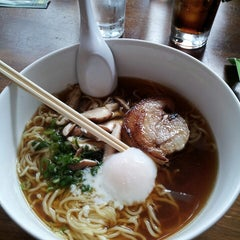 Photo taken at Boom Noodle by Tela A. on 8/17/2013