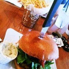 Photo taken at Liberty Burger by Whitney B. on 9/19/2012