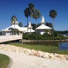 Photo taken at Disney's Wedding Pavilion by Trista L. on 10/20/2012