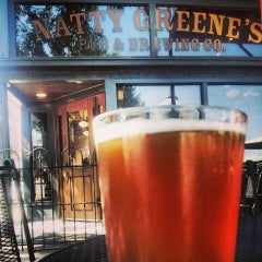 Photo taken at Natty Greene's Pub & Brewing Co. by Martina V on 7/29/2013
