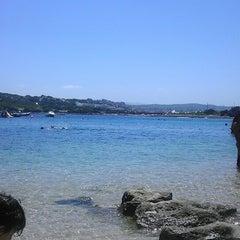 Photo taken at Capo Testa Spiaggia di Levante by Chiara L. on 7/31/2014