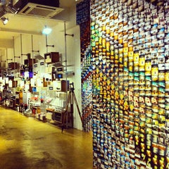 Photo taken at Lomography Gallery Store by Marcelo D. on 6/28/2013