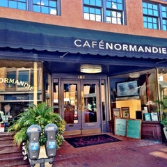 Photo taken at Cafe Normandie by Elle B. on 10/21/2012