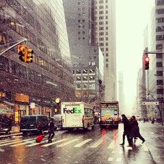 Photo taken at 520 Madison Avenue by Nina L. on 1/28/2013