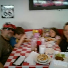 Photo taken at Happy Days Diner by Chris D. on 4/7/2013