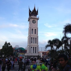 Photo taken at Jam Gadang by Pradnya P. on 11/16/2012