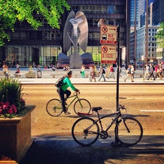 Photo taken at Daley Plaza by Daniel S. on 5/14/2013