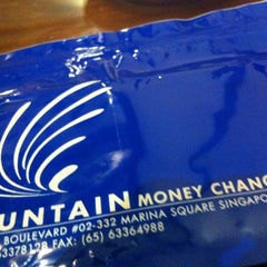 Photo taken at Fountain Money Changer by Christopher L. on 11/19/2012