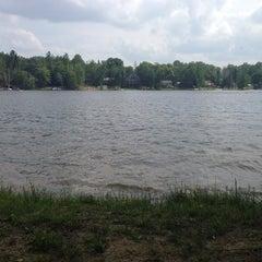Photo taken at Long Lake by Rachel B. on 7/4/2013