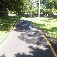 Photo taken at Parque Recreativo y Cultural Omar by Alexandra L. on 10/7/2012