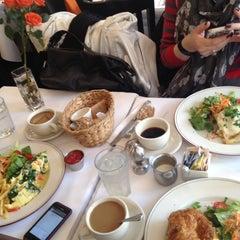 Photo taken at Mon Petit Café by Stephanie H. on 11/10/2012