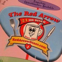 Photo taken at Red Arrow Diner by Kristine N. on 2/10/2013