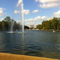 Photo taken at Hermann Park by Eye of the Tiger on 10/21/2012