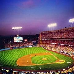 Photo taken at Dodger Stadium by onezerohero on 6/30/2013