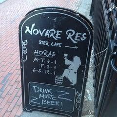 Photo taken at Novare Res Bier Cafe by Mac N. on 3/13/2013