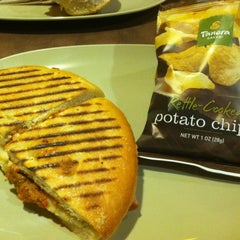 Photo taken at Panera Bread by Jaime M. on 10/6/2012