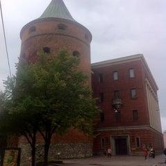 Photo taken at Pulvertornis | Powder Tower | Пороховая башня by Maria on 10/6/2012