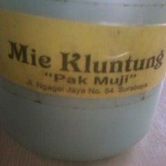 """Photo taken at Mie Kluntung/Nasi Goreng Jawa """"Pak Muji"""" by Dhiana O. on 5/17/2013"""