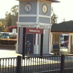 Photo taken at Hillsdale Caltrain Station by Alexey K. on 10/2/2012