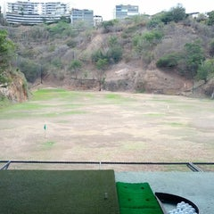 Photo taken at La Cinta Golf driving range by Juan G. on 3/30/2014