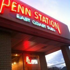 Photo taken at Penn Station East Coast Subs by Becca S. on 11/25/2012