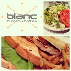 Photo taken at Blanc Burgers + Bottles by Brent S. on 12/27/2012
