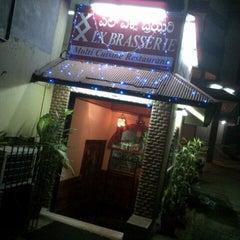 Photo taken at LX Brasserie by M Talha K. on 11/13/2012