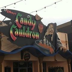 Photo taken at Disney's Candy Cauldron by Kristin K. on 5/21/2013