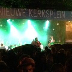 Photo taken at Nieuwe Kerksplein Haarlem by Enrico v. on 8/14/2014