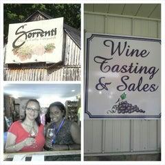 Photo taken at Sorrenti Cherry Valley Vineyards by Elizabeth J. on 7/6/2014