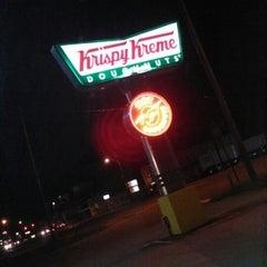 Photo taken at Krispy Kreme Doughnuts by Bri S. on 5/5/2013