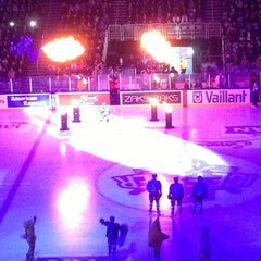 Photo taken at Arena Ice Fever 2012 by Tomislav C. on 1/13/2013
