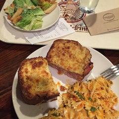 Photo taken at la Madeleine Country French Café by Dan J. on 9/2/2015