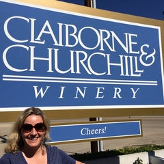 Photo taken at Claiborne & Churchill Vintners by Meredith M. on 3/16/2014