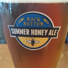 Photo taken at Rock Bottom Brewery by Aaron O. on 7/28/2013