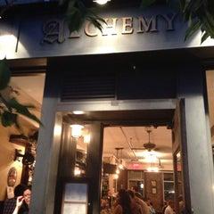 Photo taken at Alchemy Restaurant & Bar by Ally C. on 6/12/2013