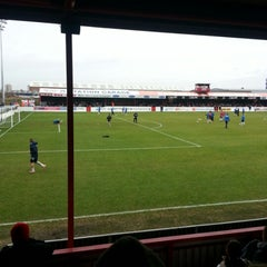 Photo taken at The London Borough of Barking & Dagenham Stadium by Dean H. on 12/26/2012