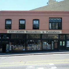 Photo taken at City Lights Bookstore by Al S. on 5/17/2013