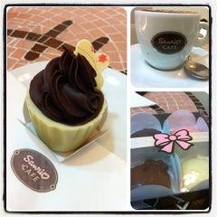 Photo taken at Sanrio Café by 🌺Cris N. on 1/10/2013