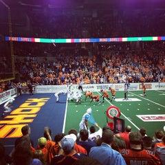 Photo taken at Spokane Veterans Memorial Arena by Nick H. on 4/13/2013