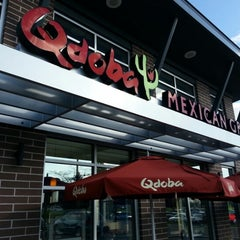 Photo taken at Qdoba Mexican Grill by Andrew D. on 5/12/2013