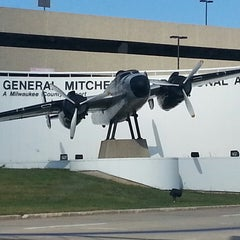 Photo taken at General Mitchell International Airport (MKE) by Andrew D. on 9/25/2013