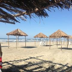 Photo taken at Playa Bonfil by miguelaranamx on 1/13/2013