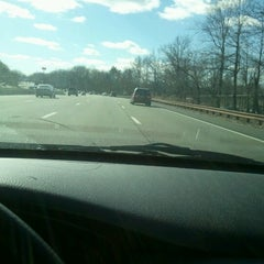 Photo taken at Garden State Parkway -- Saddlebrook by Kelly E. on 1/18/2013