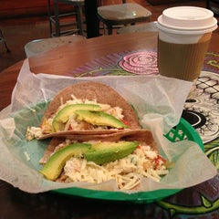 Photo taken at Tacodeli by Bill D. on 3/29/2013