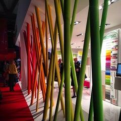 Photo taken at salone Internazionale Del Mobile by Fabrizio B. on 4/10/2014
