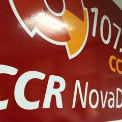 Photo taken at CCR FM 107.5 Nova Dutra by Lala M. on 8/30/2013