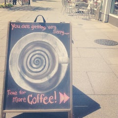 Photo taken at Bourbon Coffee DC by Chels on 5/1/2013