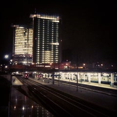 Photo taken at Passante Porta Garibaldi (linee S) by riccardo p. on 10/17/2012