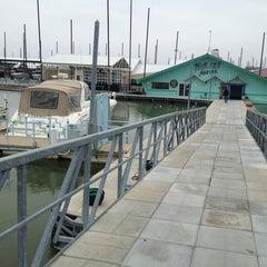 Photo taken at Pier 121 Marina by Nathan V. on 2/9/2013